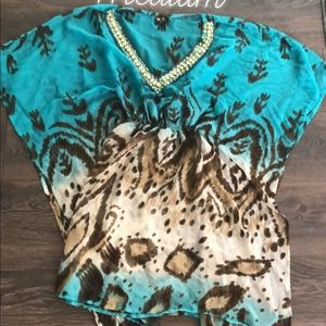 Swimsuit cover up size medium